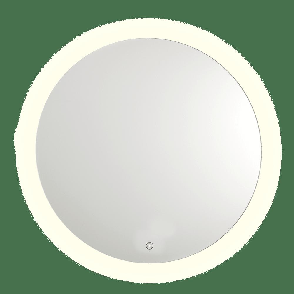 Circa Led Round Salon Mirror