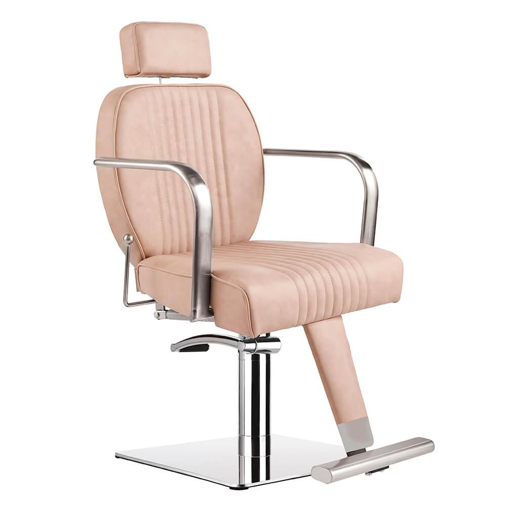 Lara Reclining Salon chair Blush – Blush