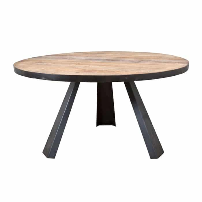 Solid table round – Elm
