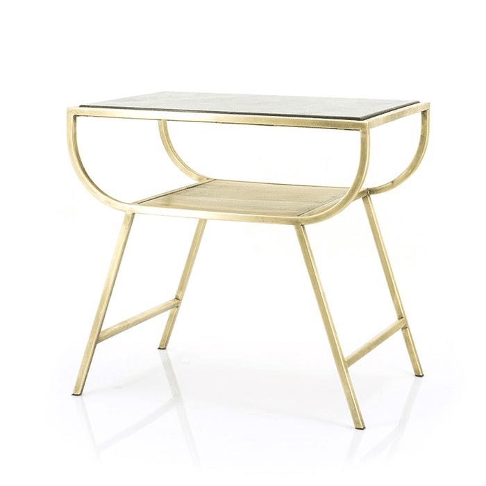 Caesar corner table – Black