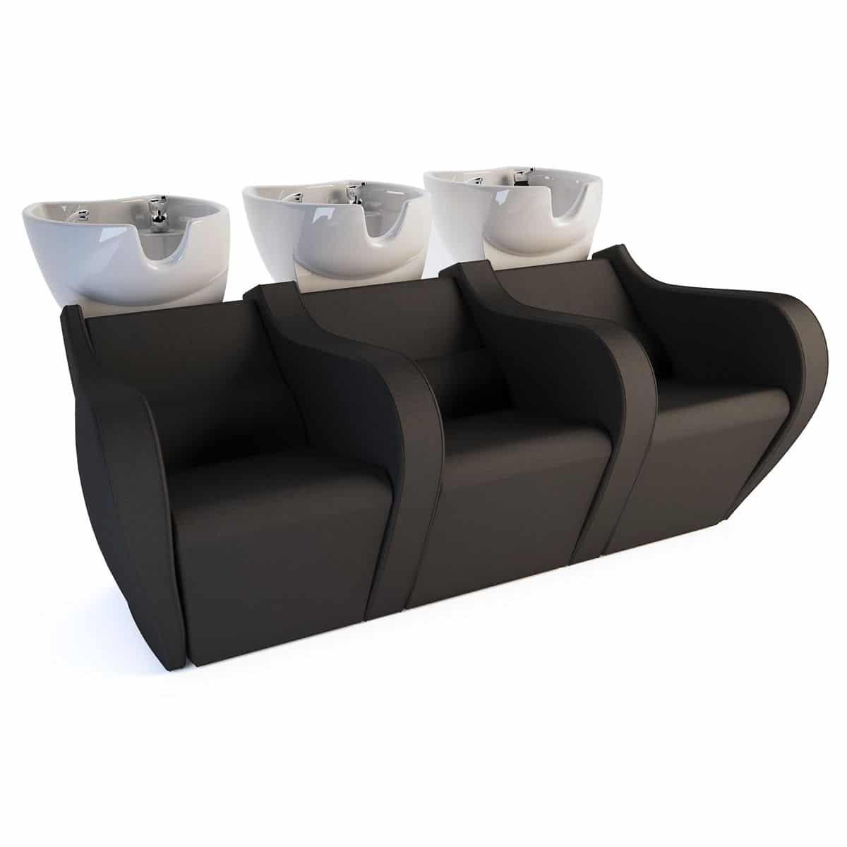 Celebrity Prime Sofa black triple